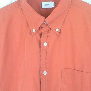 J. Crew Button Front Dress Shirt Size L (16-16.5)